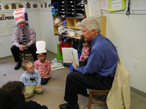 Randy Martin, City Manager of Franklin, VA, Reading to Children
